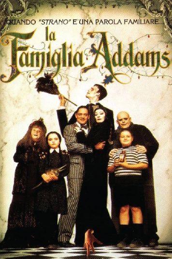 film tv oggi seconda serata, film tv in seconda serata La Famiglia Addams, film tv stanotte.