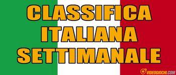 programmi tv seconda serata La classifica italiana, oggi in tv seconda serata La classifica italiana